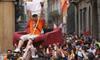 Desfile de Peñas en Valladolid