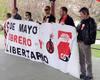 Paella ofrecida por CGT al finalizar la manifestación del Día del Trabajo