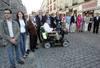 Foto de familia de los candidatos del PP de Segovia