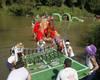 'VII Descenso de Artefactos Flotantes' en Tudela de Duero