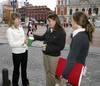Recogida de donativos de la Asociación Española contra el Cáncer (Valladolid)