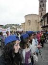 Caminata solidaria de la parroquia de San Lorenzo en Segovia