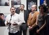 Inauguración de la exposición Un año en imágenes