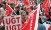 Manifestación del Día del Trabajo en Valladolid