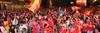 Segovia con la Roja, en el partido de cuartos ante Paraguay