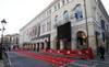 Alfombra roja en la gala de cierre de la 55 Seminci en Valladolid