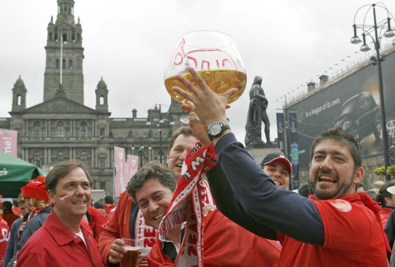Glasgow se hace española